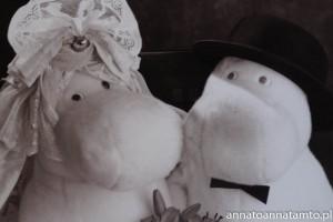 Ślubne zdjęcie Mamy Muminka