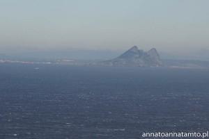 Gibraltar- widok z morza