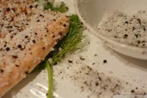 carpaccio z łososia