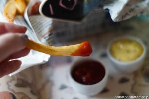 belgijskie frytki/ Vlaamse friet /Belgische frieten/Belgian chips