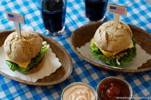 """""""nasze """" amerykańskie burgery"""