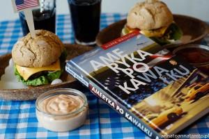 Ameryka po kawałku/ Przepis na amerykańskie burgery