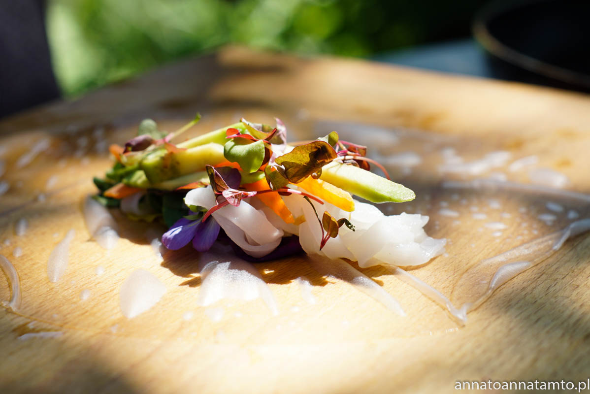 spring rollsy -Kwitowe menu