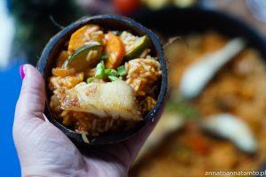 ryż z sosem rybnym
