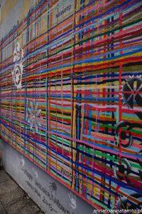 Mural antysemicki Utkany wielokulturowością