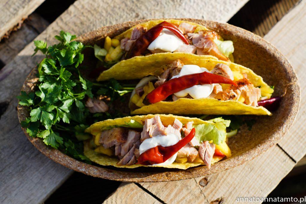Przepis na tacos z tuńczykiem