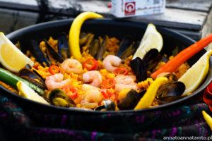 Przepis na paellę z owocami morza