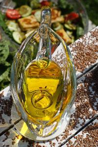 Super foods-olej lniany