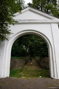 Brama cmentarza Polska Górka