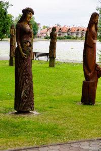 Ostróda-rzeźby