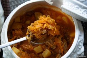 Szczi-rosyjska zupa z kapusty
