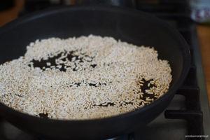 prażony ryż