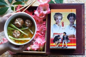 Japońska zupa ozoni i Kwiaty w pudełku