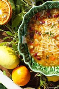 Zupa Minestrone-kulinarna inspiracja