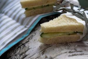 Przepis na cucumber sandwich