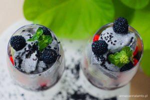 Przepis na lody z czarnego sezamu